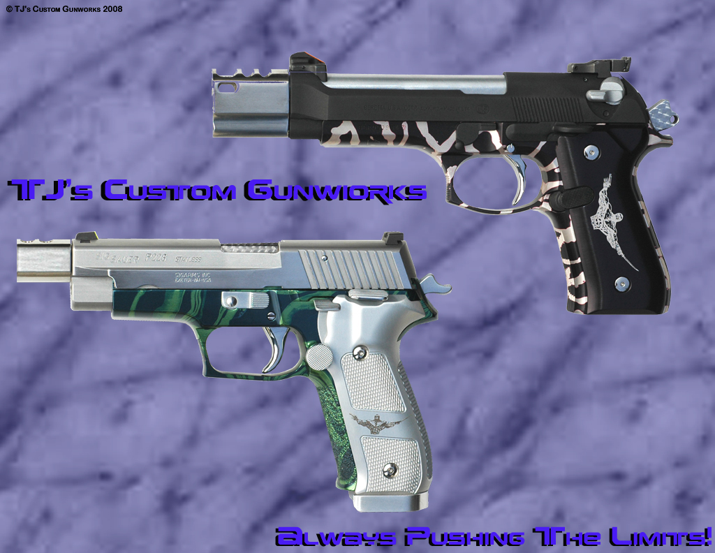 Exotic Compensated Sig 226 & Beretta 92F