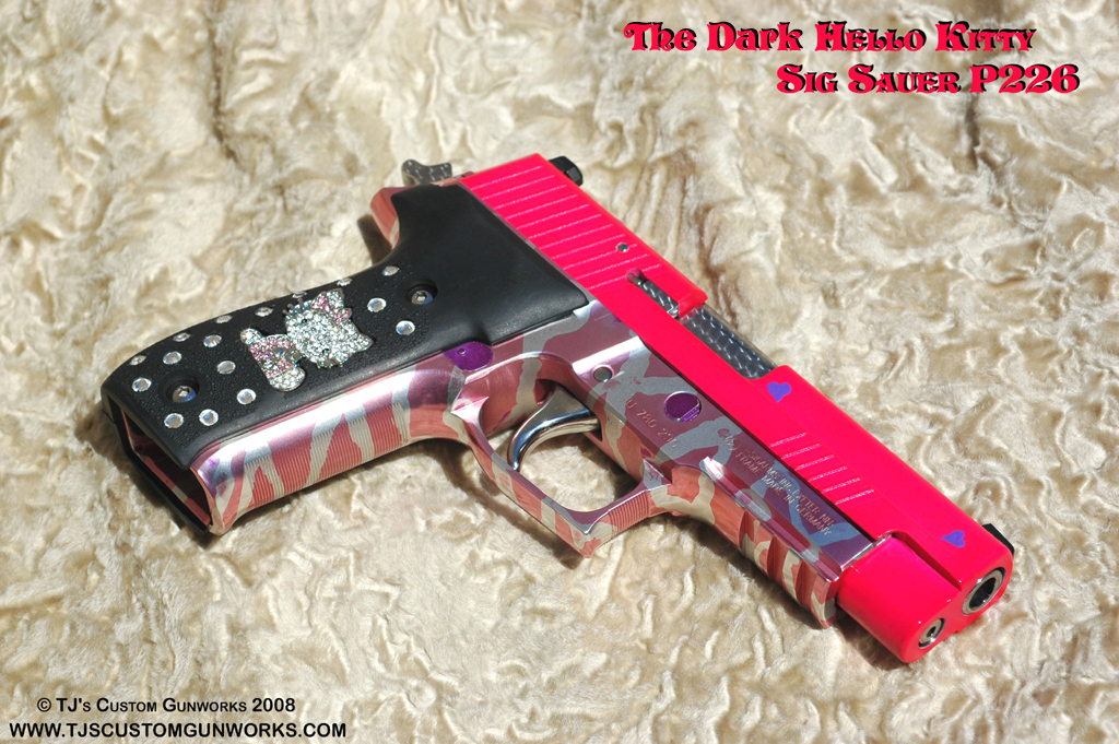 The Dark Hello Kitty� - Sig Sauer P226