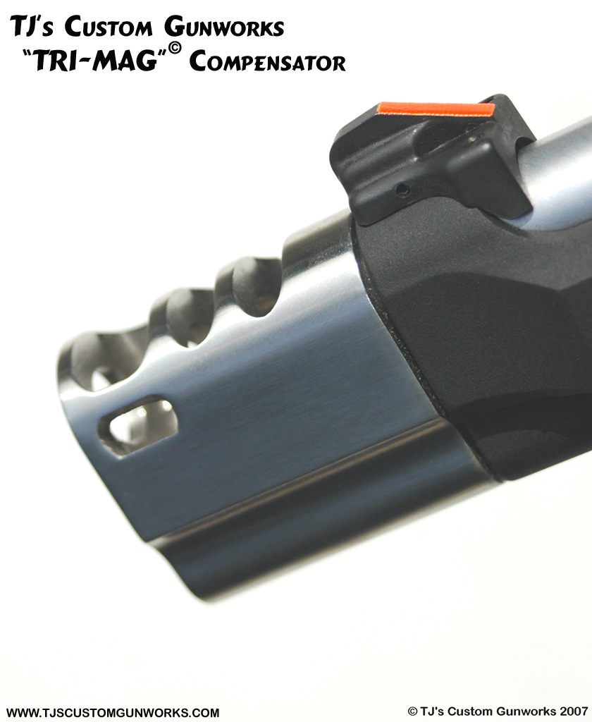 TJ's TRI-MAG Beretta Compensator><BR><P> <IMG SRC=