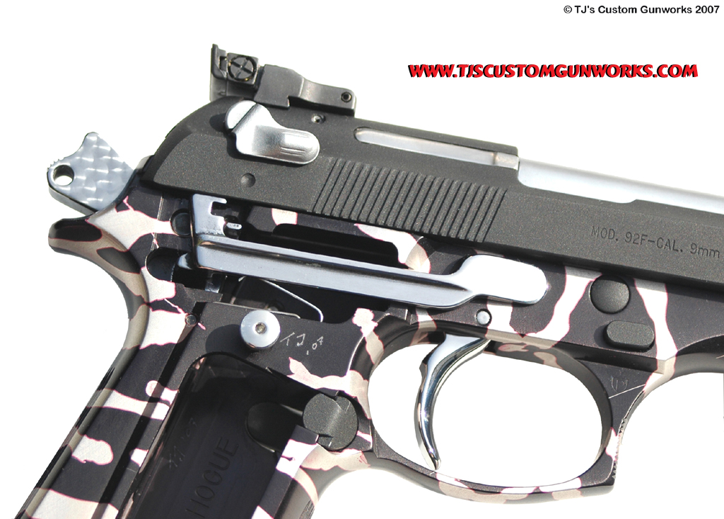 Custom Beretta 92F Internal Parts & Trigger