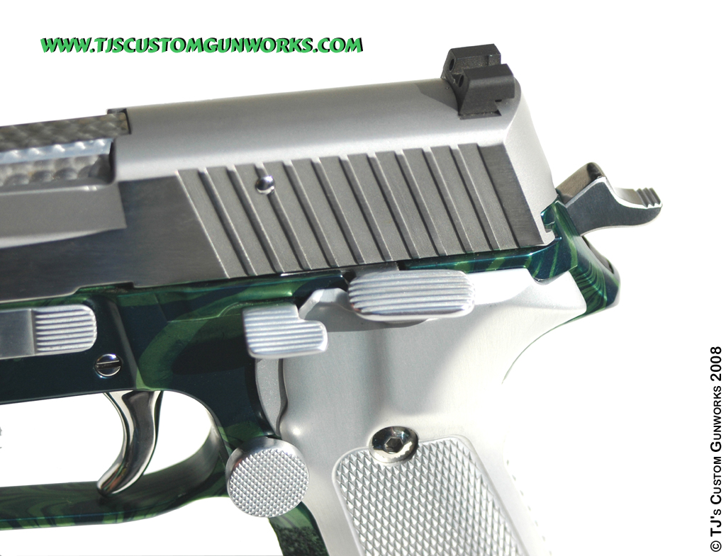 Sig Sauer P226 Custom Extended Parts & Controls